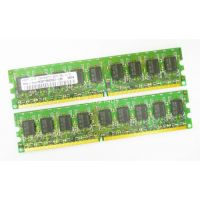 Kit 2x2GB RAM DDR2 ECC Registered 4GB PC2-4200R DDR BUS 400  for server